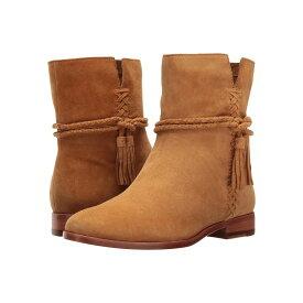フライ レディース シューズ・靴 ブーツ【Tina Whipstitch Tassel】Camel Suede