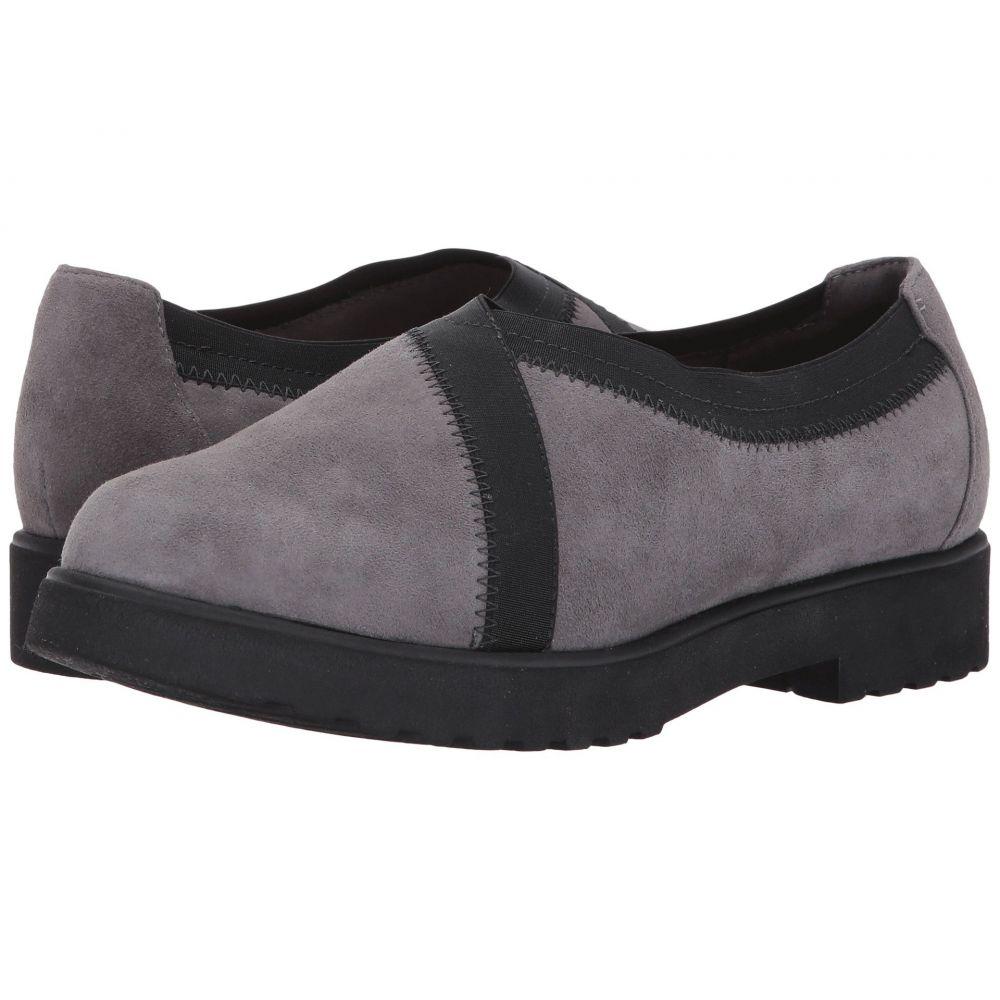 クラークス レディース シューズ・靴【Bellevue Cedar】Grey Suede