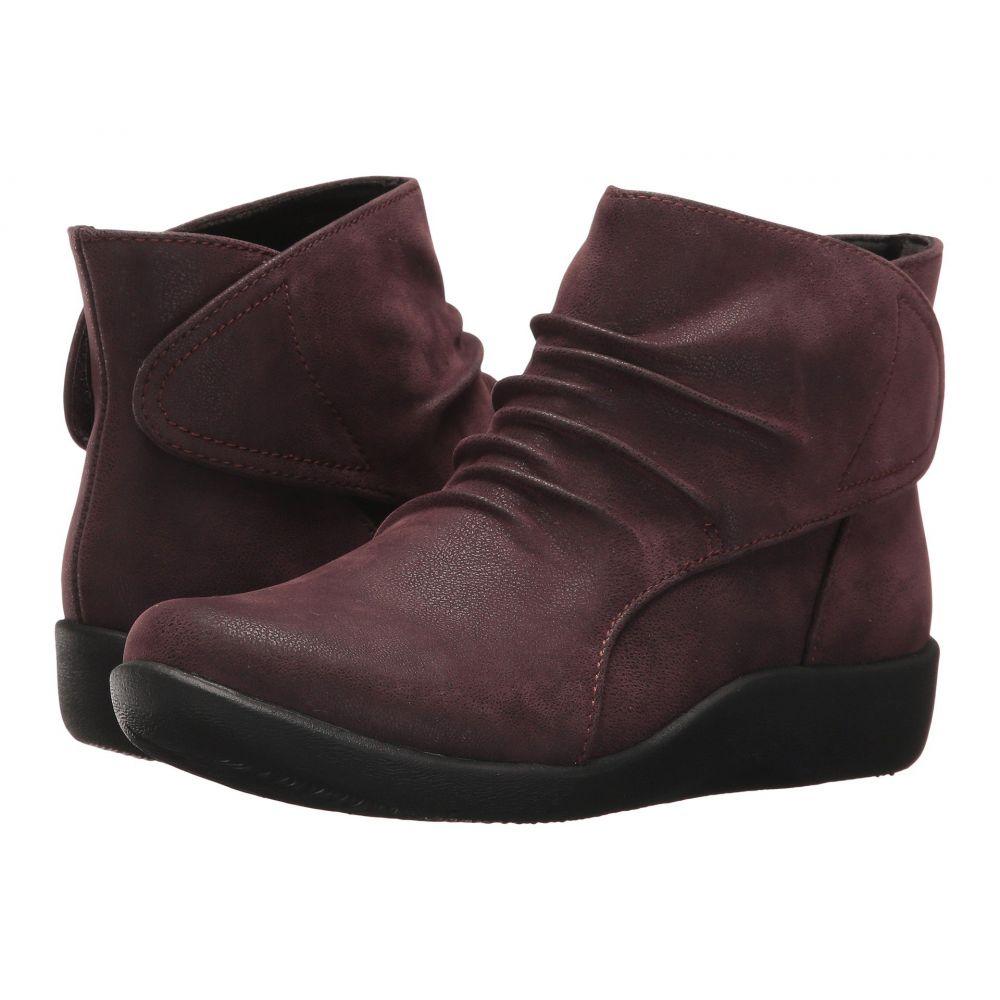クラークス レディース シューズ・靴 ブーツ【Sillian Sway】Aubergine