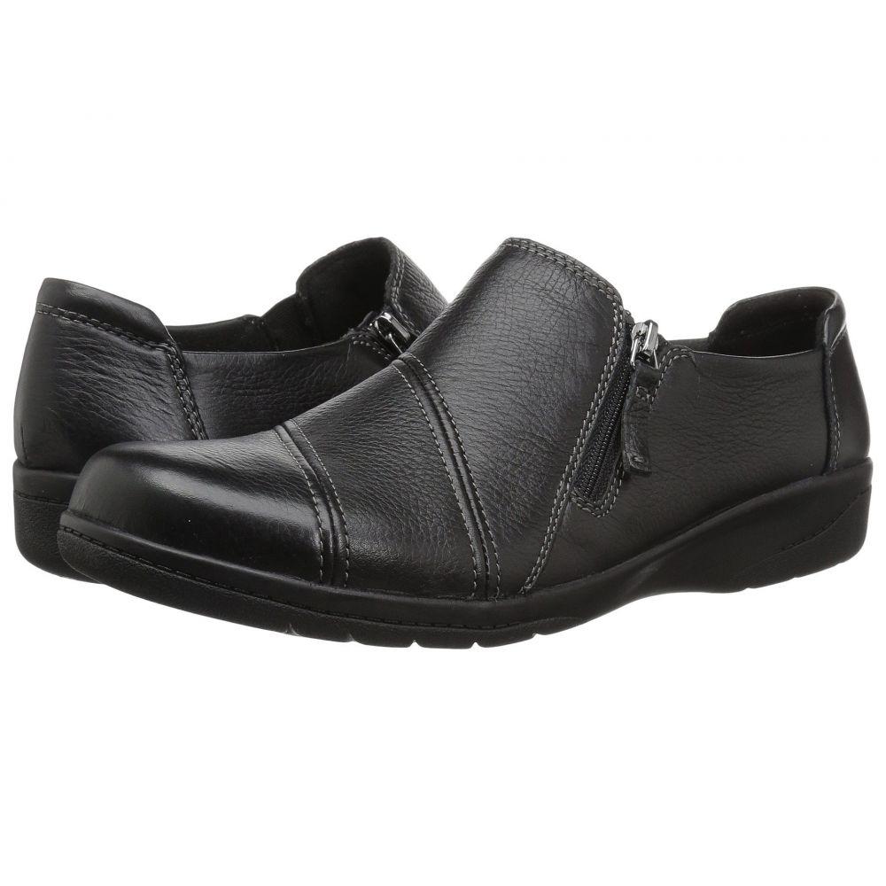 クラークス Clarks レディース シューズ・靴 ローファー・オックスフォード【Cheyn Clay】Black Leather