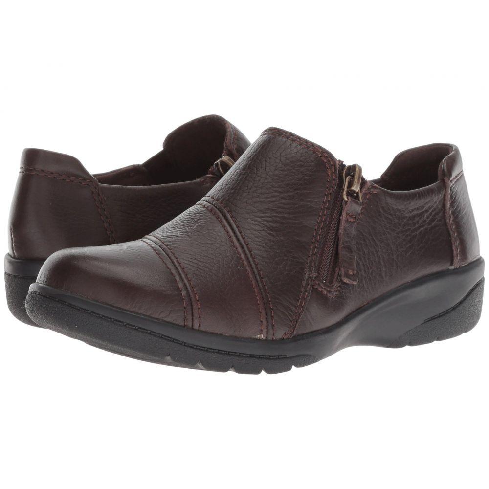 クラークス Clarks レディース シューズ・靴 ローファー・オックスフォード【Cheyn Clay】Brown Leather