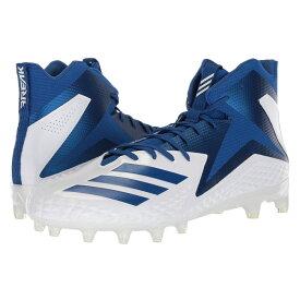 アディダス adidas メンズ アメリカンフットボール シューズ・靴【Freak x Carbon Mid】Footwear White/Collegiate Royal/Collegiate Royal