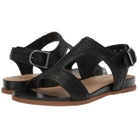 ハッシュパピー Hush Puppies レディース シューズ・靴 サンダル・ミュール【Dalmatian T-Strap】Black Perf Leather