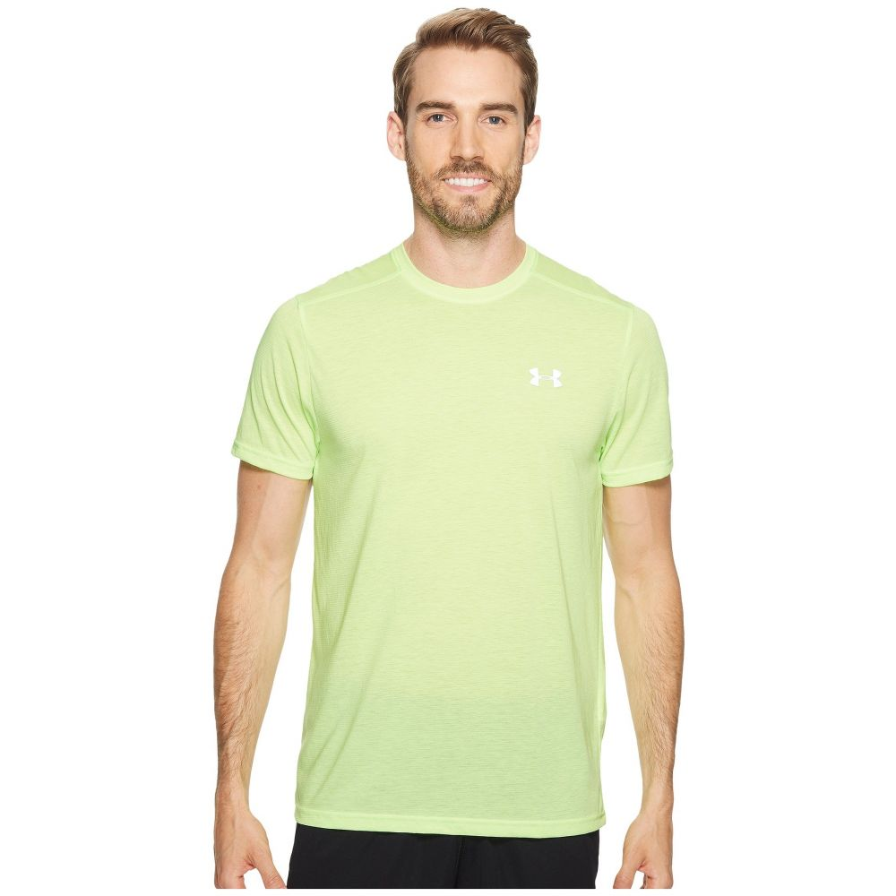 アンダーアーマー Under Armour メンズ トップス Tシャツ【UA Streaker Shortsleeve Tee】Quirky Lime/Reflective