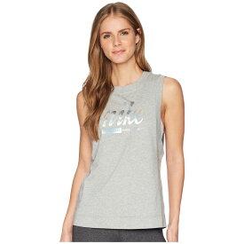 ナイキ Nike レディース トップス タンクトップ【Sportswear Metallic Tank Top】Dark Grey Heather