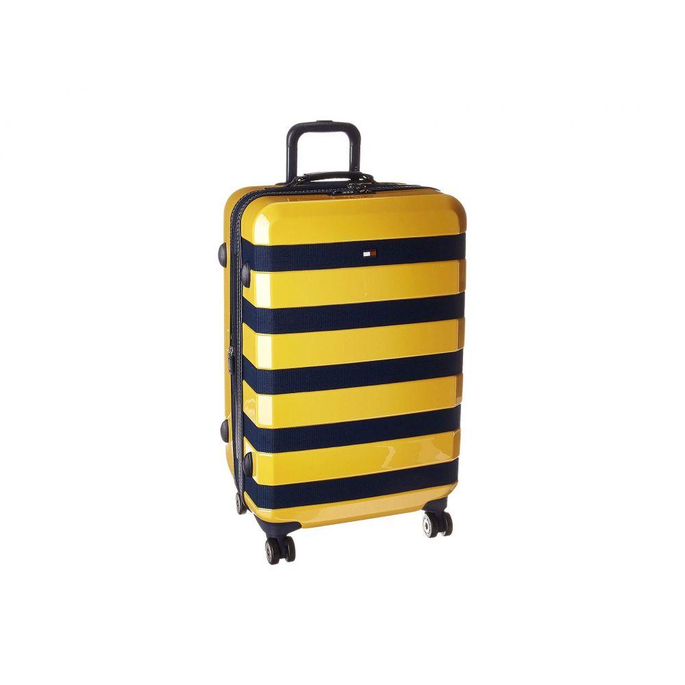 トミー ヒルフィガー Tommy Hilfiger メンズ バッグ スーツケース・キャリーバッグ【Rugby Stripe 25 Upright】Yellow