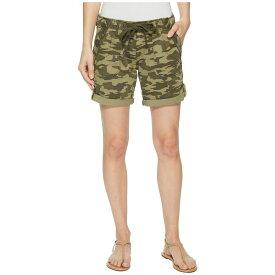 ジャグ ジーンズ Jag Jeans Petite レディース ボトムス・パンツ ショートパンツ【Petite Adeline Denim Shorts in Drab Green Camo】Drab Green Camo