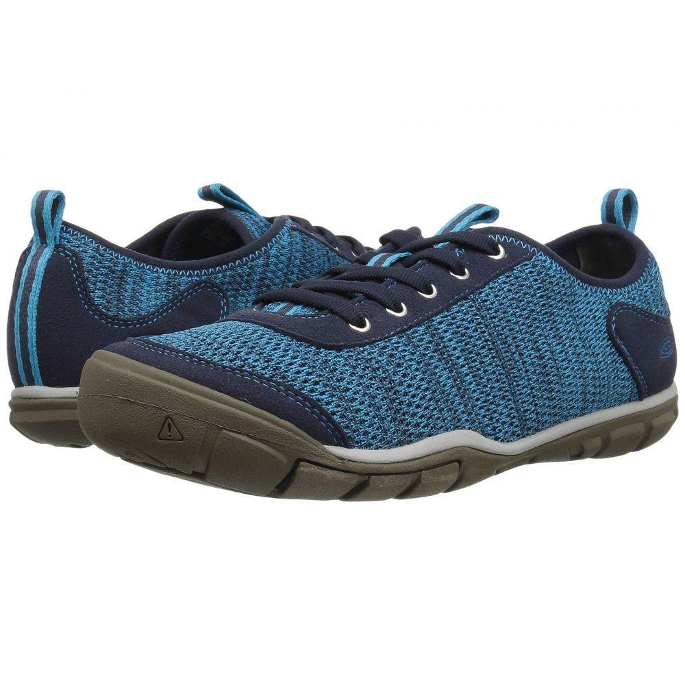 キーン Keen レディース ランニング・ウォーキング シューズ・靴【Hush Knit】Vivid Blue/Dress Blue