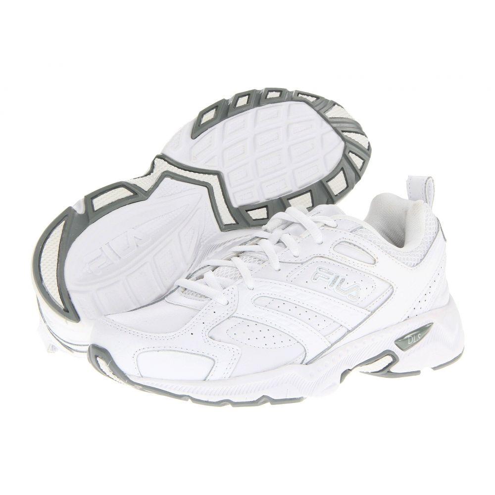フィラ Fila レディース ランニング・ウォーキング シューズ・靴【Capture】White/White/Metallic Silver