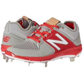 ニューバランス New Balance メンズ 野球 シューズ・靴【L3000v3】Grey/Red