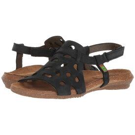 エル ナチュラリスタ El Naturalista レディース シューズ・靴 サンダル・ミュール【Wakataua N5064】Black