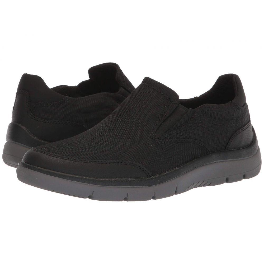 クラークス Clarks メンズ シューズ・靴 スニーカー【Tunsil Step】Black Mesh
