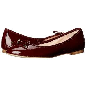 ケイト スペード Kate Spade New York レディース シューズ・靴 スリッポン・フラット【Willa】Red Chestnut Patent