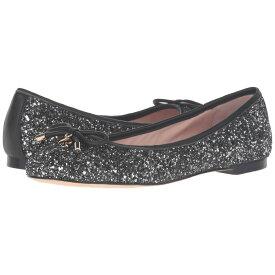 ケイト スペード Kate Spade New York レディース シューズ・靴 スリッポン・フラット【Willa】Black/Silver Glitter