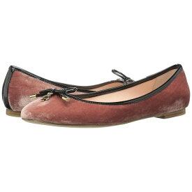 ケイト スペード Kate Spade New York レディース シューズ・靴 スリッポン・フラット【Willa】Antique Rose Velvet/Black Patent