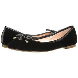 ケイト スペード Kate Spade New York レディース シューズ・靴 スリッポン・フラット【Willa】Black Velvet/Patent