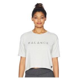 89f6bcd3537e5 ニューバランス New Balance レディース トップス Tシャツ【Release Layer Tee】Sea Salt Heather