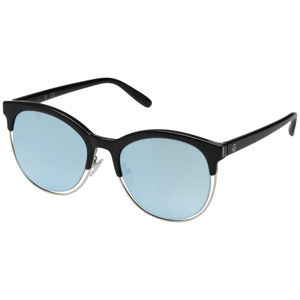 ゲス GUESS レディース メガネ・サングラス【GG1159】Shiny Black/Blue Mirror