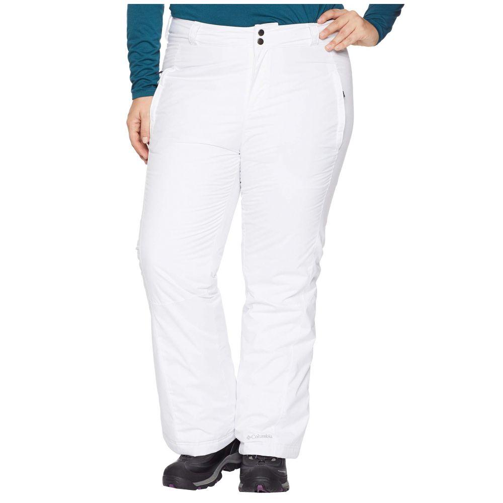 コロンビア Columbia レディース ボトムス・パンツ【Plus Size Modern Mountain 2.0 Pants】White