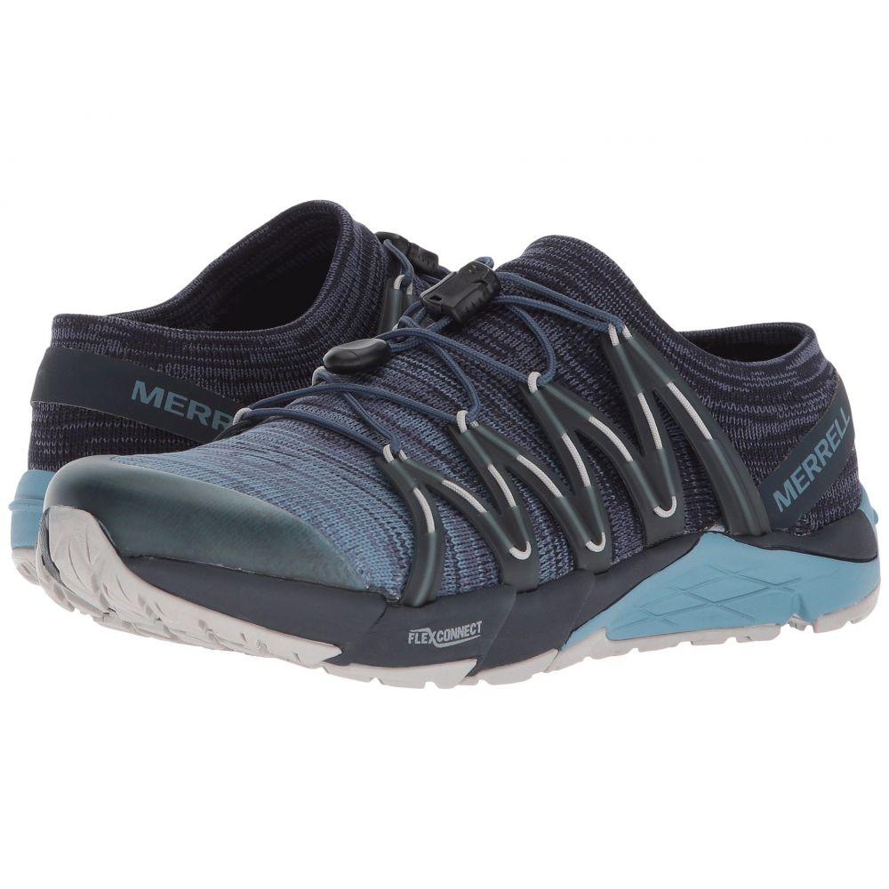 メレル Merrell レディース ランニング・ウォーキング シューズ・靴【Bare Access Flex Knit】Navy
