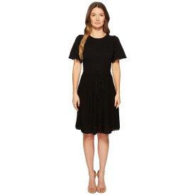ケイト スペード Kate Spade New York レディース ワンピース・ドレス ワンピース【Flutter Sleeve Sweater Dress】Black