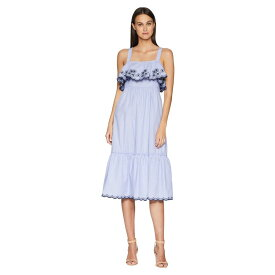 ケイト スペード Kate Spade New York レディース ワンピース・ドレス ワンピース【Daisy Embroidered Patio Dress】Ensemble Blue