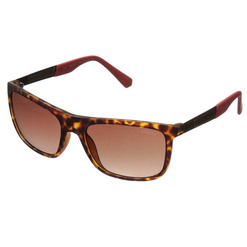 ゲス GUESS メンズ メガネ・サングラス【GU6843】Dark Havana/Gradient Brown