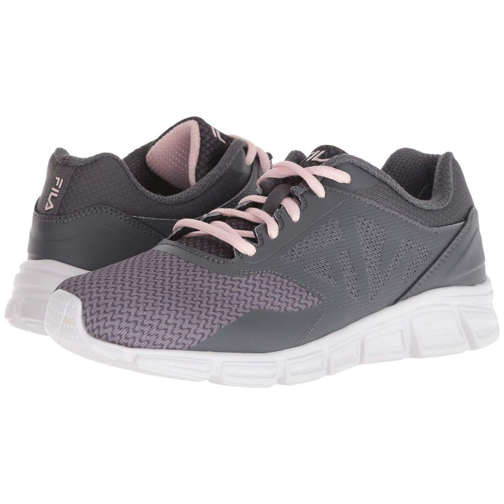 フィラ Fila レディース ランニング・ウォーキング シューズ・靴【Skyspan Running】Monument/Castlerock/Pink