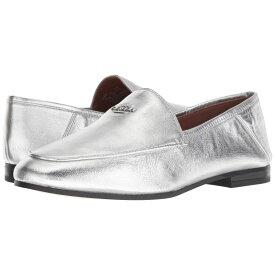 コーチ COACH レディース シューズ・靴 ローファー・オックスフォード【Hallie Metallic Loafer】Silver