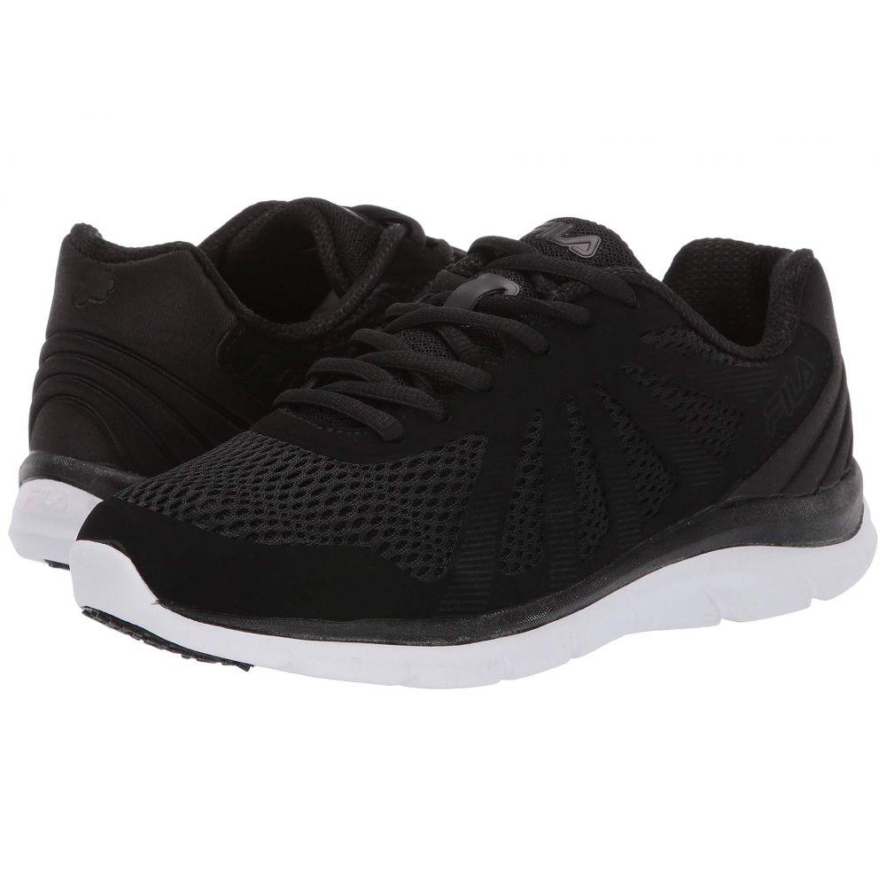 フィラ Fila レディース ランニング・ウォーキング シューズ・靴【Memory Fraction 2 Running】Black/Black/White