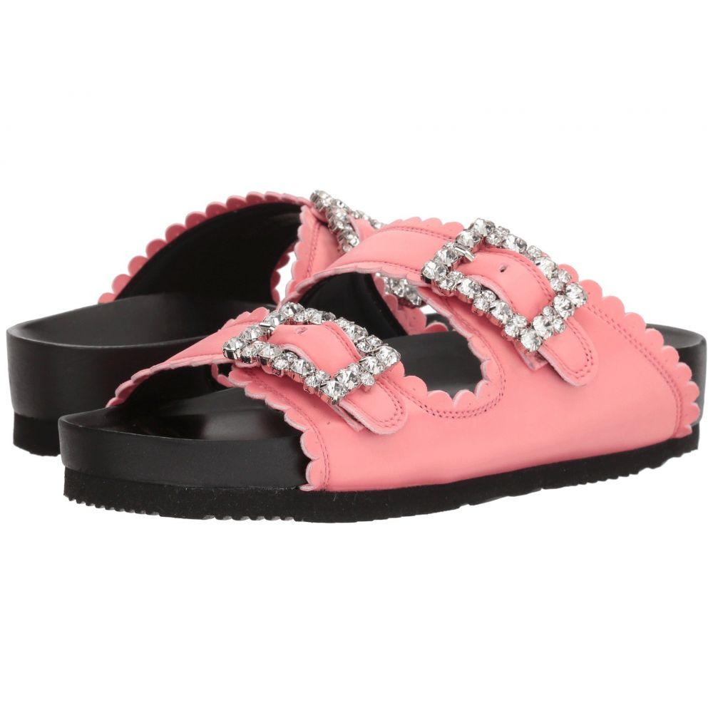 シューコンマボニー Suecomma Bonnie レディース シューズ・靴 サンダル・ミュール【Jewel Buckles Flat Sandals】Pink