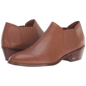 コーチ COACH レディース シューズ・靴 ブーツ【Leather Ankle Bootie】Saddle