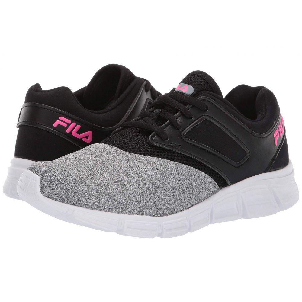フィラ Fila レディース ランニング・ウォーキング シューズ・靴【O-Ray Running】Monument Heather/Black/Knockout Pink