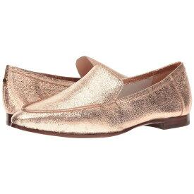 ケイト スペード Kate Spade New York レディース シューズ・靴 ローファー・オックスフォード【Carima】Rose Gold Crackle Metallic Nappa