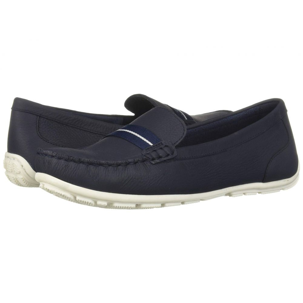クラークス Clarks レディース シューズ・靴 ローファー・オックスフォード【Dameo Vine】Navy Leather