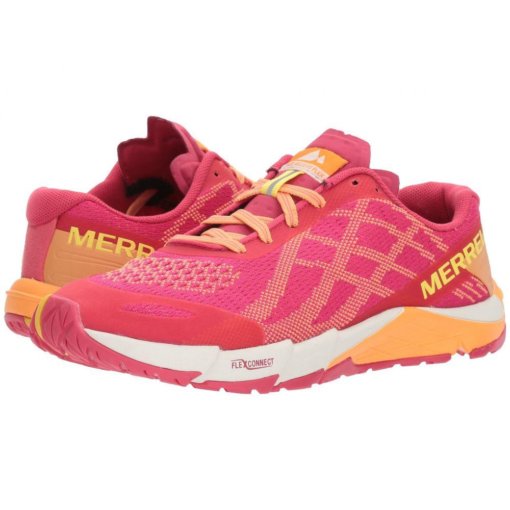 メレル Merrell レディース ランニング・ウォーキング シューズ・靴【Bare Access Flex E-Mesh】Hot Coral