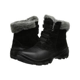 コロンビア Columbia レディース シューズ・靴 ブーツ【Sierra Summette Shorty】Black/Red Plum