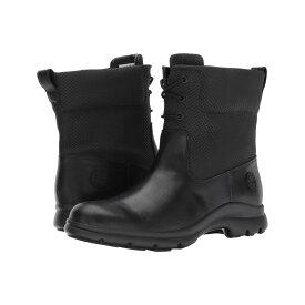 ティンバーランド Timberland レディース シューズ・靴 ブーツ【Turain Waterproof Ankle Boot】Black Leather