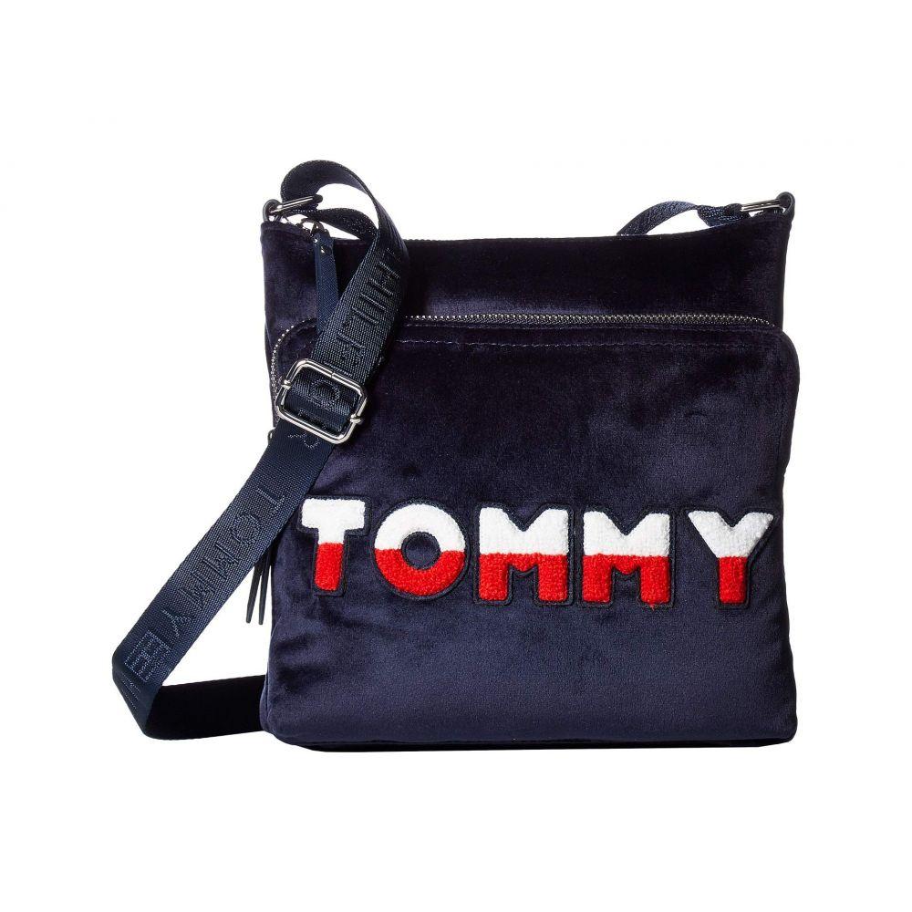 トミー ヒルフィガー Tommy Hilfiger レディース バッグ ショルダーバッグ【Nylon North/South Crossbody】Tommy Navy