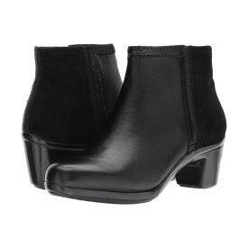 アラヴォン Aravon レディース シューズ・靴 ブーツ【Lexee Binded Bootie】Black Leather