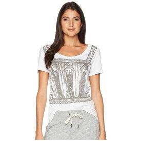 ハンキーパンキー Hanky Panky レディース トップス Tシャツ【Organic Cotton Screen T-Shirt】White/Pewter