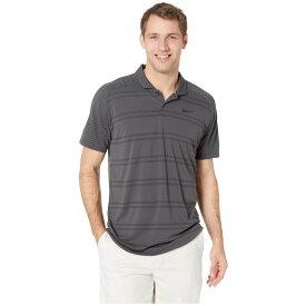 f81f87873aa8 ナイキ Nike Golf メンズ ゴルフ トップス【Zonal Cooling Polo Stripe Raglan】Anthracite/Black
