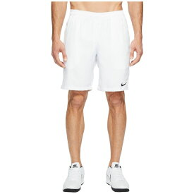 ナイキ Nike メンズ ボトムス・パンツ ショートパンツ【Court Dry 9 Tennis Short】White/White/Black