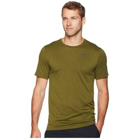 ナイキ Nike メンズ フィットネス・トレーニング トップス【Breathe Short Sleeve Training Top】Olive Flak/Olive Canvas/Black