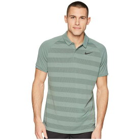 fd20d994d39d ナイキ Nike Golf メンズ トップス ポロシャツ【Zonal Cooling Stripe Polo】Clay Green/Sequoia