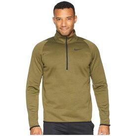 ナイキ Nike メンズ トップス【Thermal Top Long Sleeve 1/4 Zip】Olive Canvas/Black