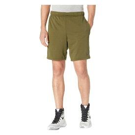 ナイキ Nike メンズ ボトムス・パンツ ショートパンツ【Dry Fleece Hybrid Shorts】Olive Canvas/Black