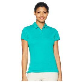 ナイキ Nike Golf レディース トップス ポロシャツ【Dry Polo Short Sleeve】Neptune Green/Flint Silver