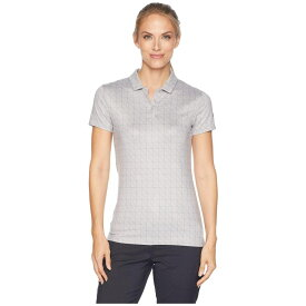 ナイキ Nike Golf レディース トップス ポロシャツ【Dry Printed Short Sleeve Polo】Atmosphere Grey/Gunsmoke/Black