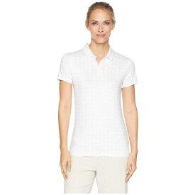 ナイキ Nike Golf レディース トップス ポロシャツ【Dry Printed Short Sleeve Polo】White/Atmosphere Grey/Flint Silver